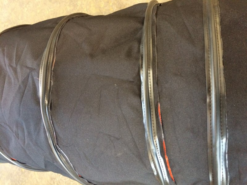 Duct and Blower Hose for Portable Industrial Heaters